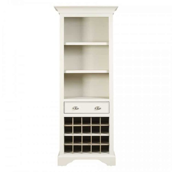 Lily Tall Wine Rack Bookcase